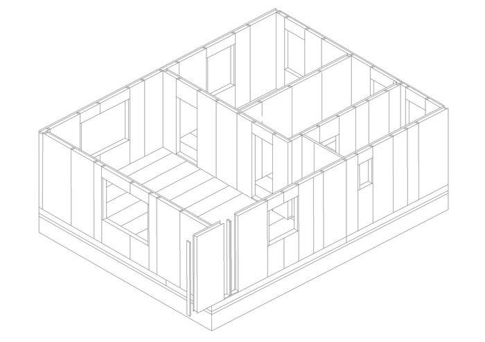 8-2 этап строительства дома.