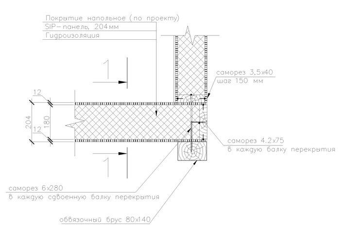 5 этап строительства дома.